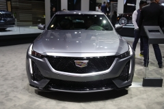 2020 Cadillac CT5 350T Sport - 2019 New York Internation Auto Show Live - Exterior 002 front end
