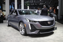 2020 Cadillac CT5 350T Sport - 2019 New York Internation Auto Show Live - Exterior 003 front three quarters