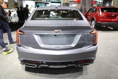 2020 Cadillac CT5 350T Sport - 2019 New York Internation Auto Show Live - Exterior 005 rear end