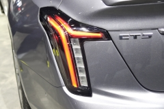 2020 Cadillac CT5 350T Sport - 2019 New York Internation Auto Show Live - Exterior 019 tail light
