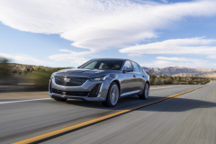 2020-Cadillac-CT5-550T-Premium-Luxury-Media-Drive-Exterior-003-front-three-quarters