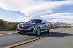 2020-Cadillac-CT5-550T-Premium-Luxury-Media-Drive-Exterior-003-front-three-quarters