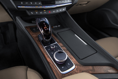 2020-Cadillac-CT5-550T-Premium-Luxury-Media-Drive-Interior-005-center-console-with-digital-shifter-and-intotainment-controls