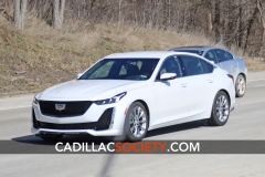 2020 Cadillac CT5 Luxury - Exterior - On Road - April 2019 002