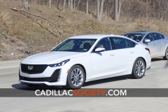 2020 Cadillac CT5 Luxury - Exterior - On Road - April 2019 003