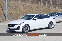 2020 Cadillac CT5 Luxury - Exterior - On Road - April 2019 004