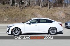 2020 Cadillac CT5 Luxury - Exterior - On Road - April 2019 005