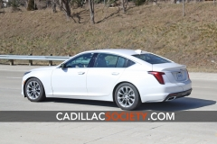 2020 Cadillac CT5 Luxury - Exterior - On Road - April 2019 006
