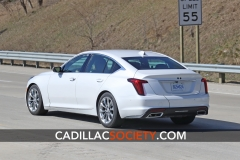 2020 Cadillac CT5 Luxury - Exterior - On Road - April 2019 007