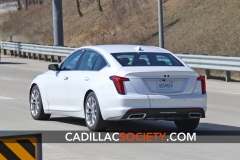2020 Cadillac CT5 Luxury - Exterior - On Road - April 2019 008