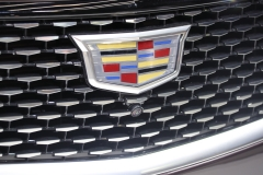 2020 Cadillac CT5 Premium Luxury - Exterior - 2019 New York International Auto Show 021 Cadillac logo and grille