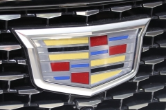 2020 Cadillac CT5 Premium Luxury - Exterior - 2019 New York International Auto Show 022 Cadillac logo