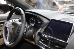 2020 Cadillac CT5 Premium Luxury - Interior - 2019 New York International Auto Show 004 steering wheel