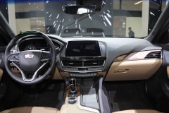 2020 Cadillac CT5 Premium Luxury - Interior - 2019 New York International Auto Show 005 cockpit