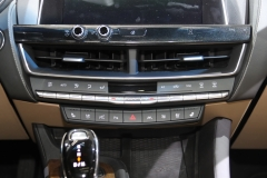 2020 Cadillac CT5 Premium Luxury - Interior - 2019 New York International Auto Show 006 center stack HVAC volume toggle