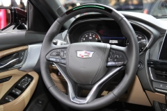 2020 Cadillac CT5 Premium Luxury - Interior - 2019 New York International Auto Show 011 steering wheel with Super Cruise