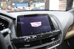2020 Cadillac CT5 Premium Luxury - Interior - 2019 New York International Auto Show 016 center screen Cadillac logo