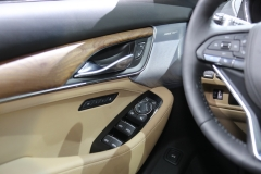 2020 Cadillac CT5 Premium Luxury - Interior - 2019 New York International Auto Show 025 driver side door panel