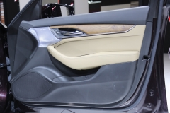 2020 Cadillac CT5 Premium Luxury - Interior - 2019 New York International Auto Show 026 passenger side door panel