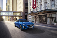 2020-Cadillac-CT5-Sedan-in-Blue-on-street-001