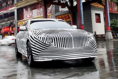 2020 Cadillac CT5 in China - camouflage wrap 002