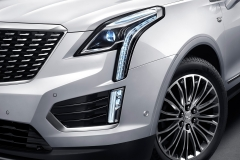 2020 Cadillac XT5 Premium Luxury China exterior 003 headlamp foglight DRL and wheel