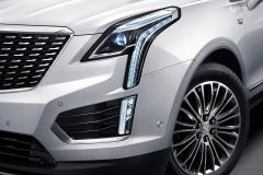 2020 Cadillac XT5 Premium Luxury China exterior 003 headlamp foglight DRL and wheel