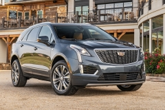 2020 Cadillac XT5 Premium Luxury Exterior Press 0006