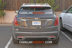 2020 Cadillac XT5 Refresh Exterior Spy Shots May 2019 006