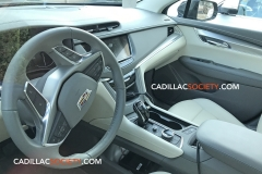 2020 Cadillac XT5 Refresh Interior Spy Shots May 2019 002