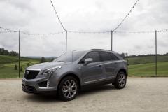 2020-Cadillac-XT5-Sport-400-Exterior-XT6-Drive-Event-005-front-three-quarters