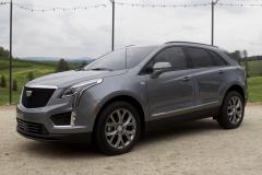 2020-Cadillac-XT5-Sport-400-Exterior-XT6-Drive-Event-006-front-three-quarters