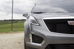 2020-Cadillac-XT5-Sport-400-Exterior-XT6-Drive-Event-019-headlamp-grille-Cadillac-logo