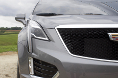 2020-Cadillac-XT5-Sport-400-Exterior-XT6-Drive-Event-020-headlamp-grille-Cadillac-logo