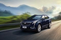 2020 Cadillac XT5 Sport China exterior 001 front three quarters