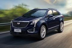 2020 Cadillac XT5 Sport China exterior 002 front three quarters