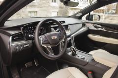 2020-Cadillac-XT5-Sport-Interior-002-cockpit-steering-wheel
