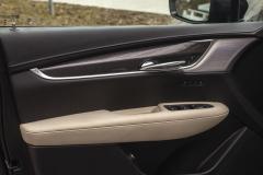 2020-Cadillac-XT5-Sport-Interior-021-front-passenger-door-panel-Bose-Performance-Series-Speaker-Grille-Treatment-Carbon-Fiber-Decor-stitcing