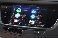 2020 Cadillac XT5 Sport Interior Press 0005