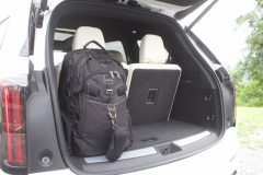 2020-Cadillac-XT6-Cargo-Area-Trunk-XT6-Drive-004-third-row-upright-and-backpack-in-trunk