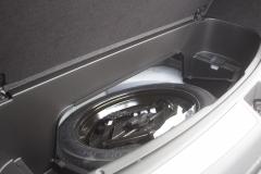 2020-Cadillac-XT6-Cargo-Area-Trunk-XT6-Drive-007-underfloor-storage-spare-tire