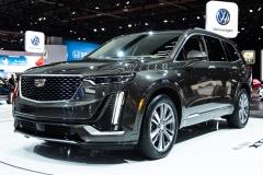 2020 Cadillac XT6 Premium Luxury - Exterior - 2019 NAIAS - Live 004