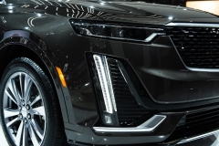 2020 Cadillac XT6 Premium Luxury - Exterior - 2019 NAIAS - Live 016 - headlight with accents light