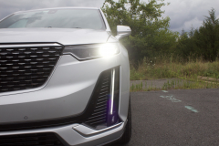 2020-Cadillac-XT6-Premium-Luxury-with-Platinum-Package-Exterior-XT6-Drive-021-uplevel-LED-headlamp