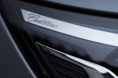 2020 Cadillac XT6 Sport Exterior 012 Cadillac script logo in headlight