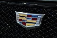 2020 Cadillac XT6 Sport - Exterior - 2019 NAIAS - Live 026 Cadillac logo