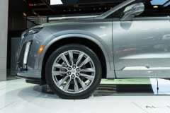 2020 Cadillac XT6 Sport - Exterior - 2019 NAIAS - Live 027 front end and wheel