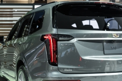 2020 Cadillac XT6 Sport - Exterior - 2019 NAIAS - Live 032 rear end and taillight