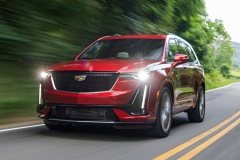 2020 Cadillac XT6 Sport - Exterior - First Drive - July 2019 002 front three quarters