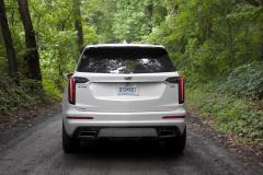 2020-Cadillac-XT6-Sport-Exterior-XT6-Drive-Forest-007-rear-end